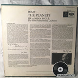 "Gustav Holst - Sir Adrian Boult, New Philharmonia Orchestra With The Ambrosian Singers: ""The Planets"""