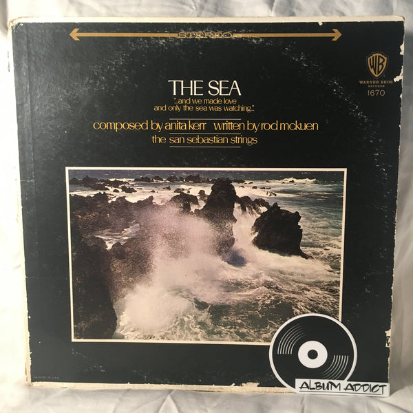 "Anita Kerr, Rod McKuen / The San Sebastian Strings: ""The Sea"""