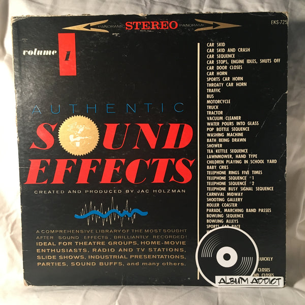"Jac Holzman: ""Authentic Sound Effects Volume 5"""