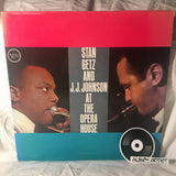 "Stan Getz And J.J. Johnson: ""At The Opera House"""