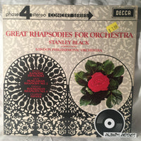 "Stanley Black Conducting The London Philharmonic Orchestra: ""Great Rhapsodies For Orchestra"""