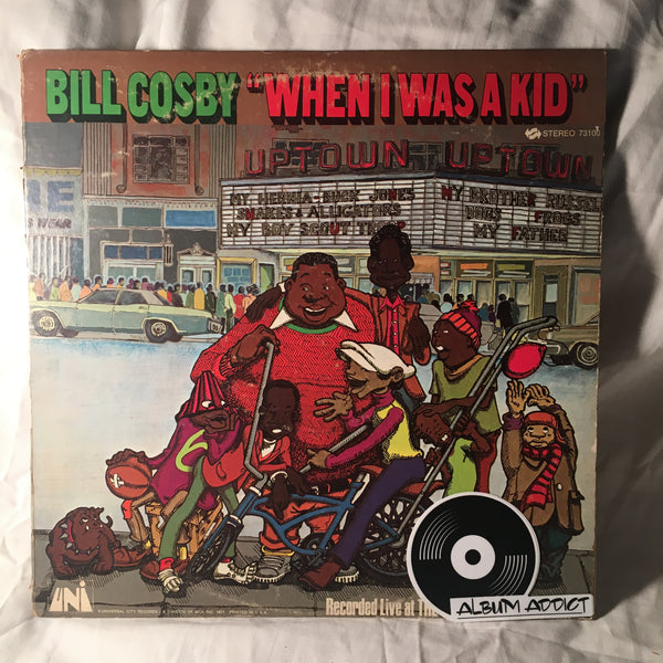 "Bill Cosby: ""When I Was A Kid"""
