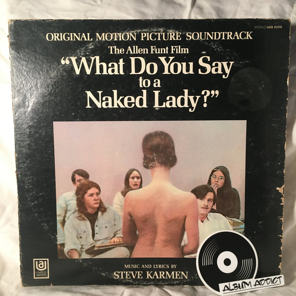 "Steve Karmen: ""What Do You Say To A Naked Lady?"""