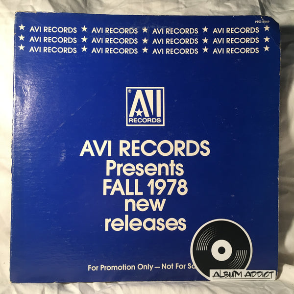 AVI Records Presents Fall 1978 New Releases