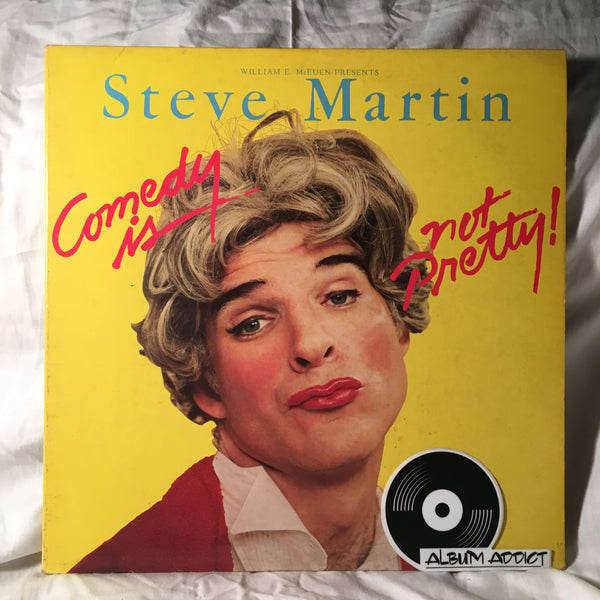 "Steve Martin: ""Comedy Is Not Pretty"""