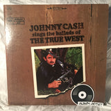"Johnny Cash: ""Johnny Cash Sings The Ballads Of The True West"""