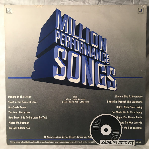 Million Performance Songs