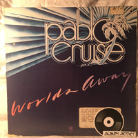 "Pablo Cruise: ""Worlds Away (White Promo Labels)"""