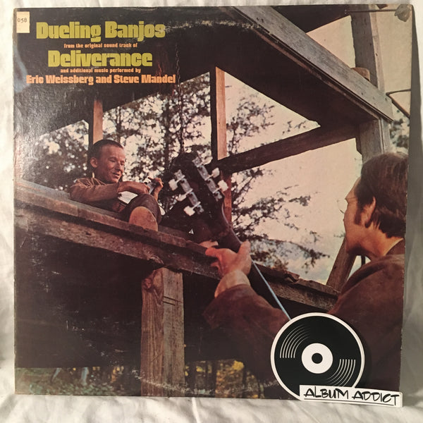 "Eric Weissberg And Steve Mandell: ""Dueling Banjos From The Original Motion Picture Soundtrack Deliverance And Additional Music"""