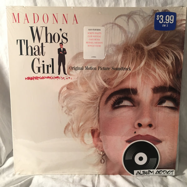 "Madonna: ""Who's That Girl (Original Motion Picture Soundtrack)"""