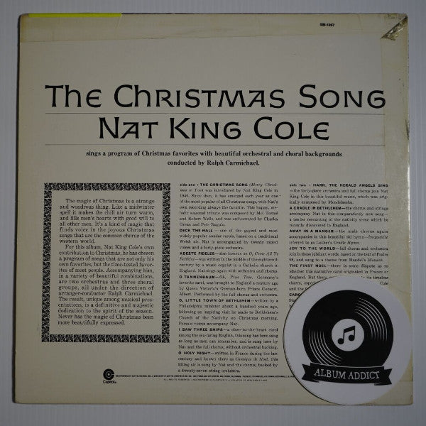 """Nat King Cole: """"The Christmas Song"""" – Album Addict"""