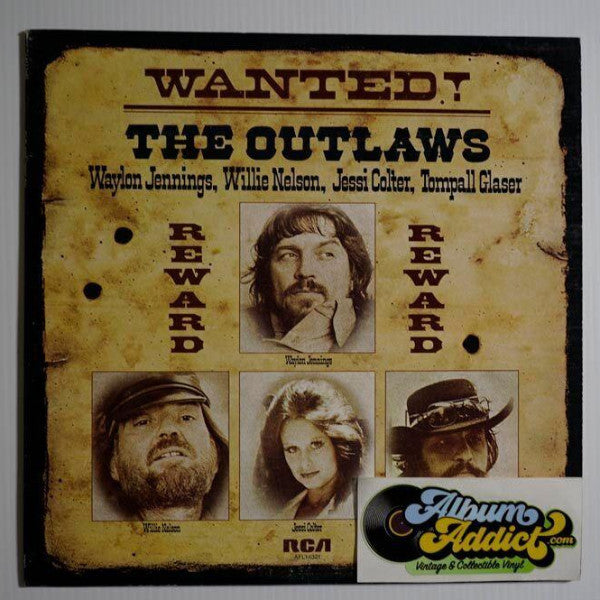 "Waylon Jennings, Willie Nelson, Jessi Colter, Tompall Glaser: ""Wanted! The Outlaws"" (2)"