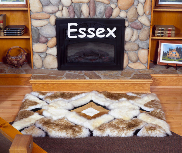 "Essex Designer Rug, available in Essex Style or ""Blanc Sur Blanc"" White - Free Shipping"