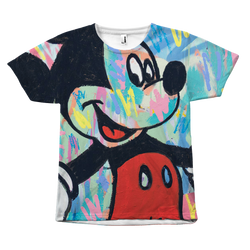 Bourn Rich Unisex Mickey/Minnie T-Shirt