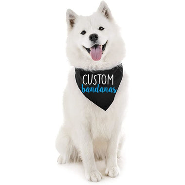 Custom Dog Bandana Multiple Colors & Prints