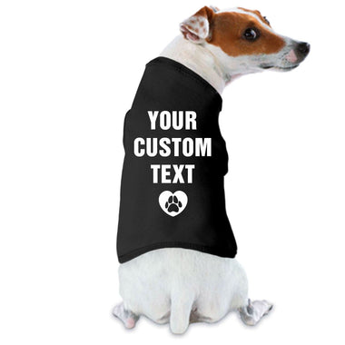 Custom Dog Shirt for Small to Medium Breeds