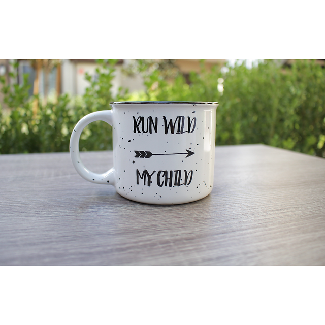 Run Wild 15oz Ceramic Campfire Coffee Mug