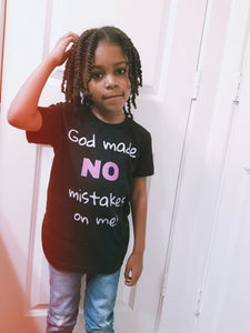 No Mistakes - Kid's Tee