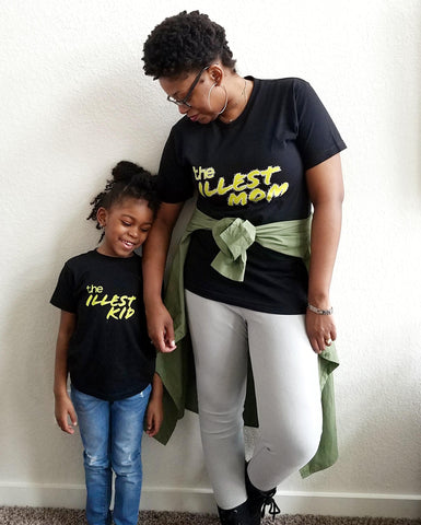 The Illest Mom/Kid Set - sweetexpreshunz