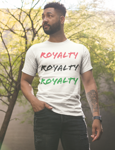 Royalty man standing outdoors