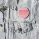 Pink brownskin girl button on jean jacket