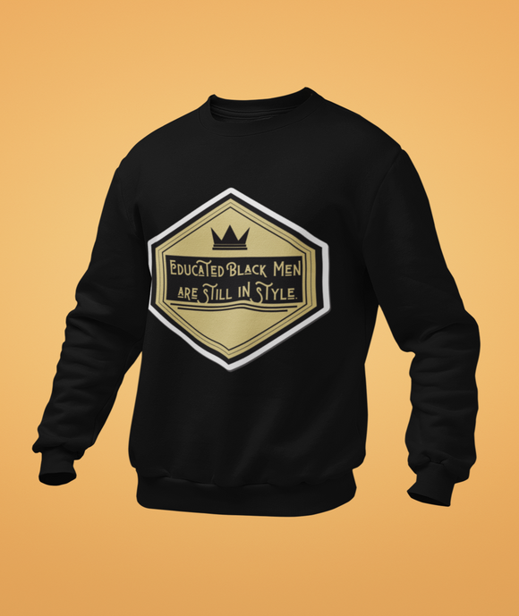 sweet expreshunz educated black men sweatshirt