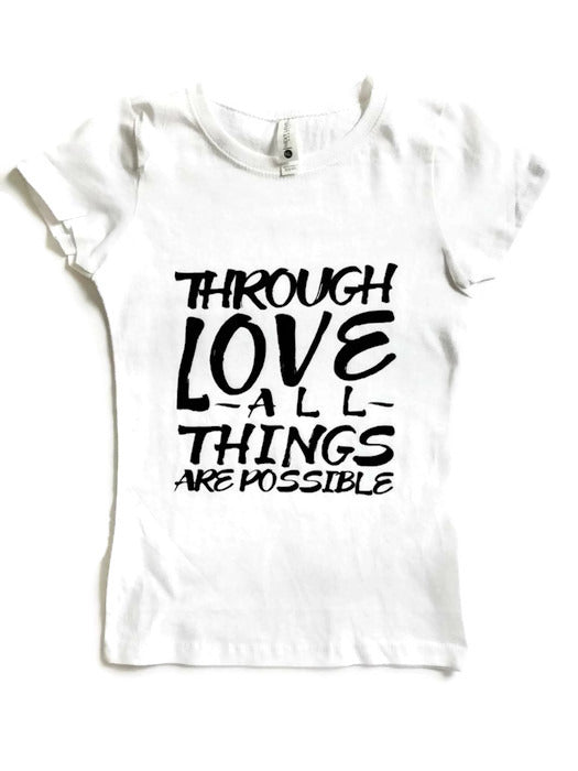 Love - Kids Tee - sweetexpreshunz