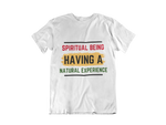White spiritual being tshirt