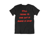 You okay? - Adult Tee (Black) - sweetexpreshunz
