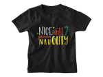 black nice until proven naughty t shirt