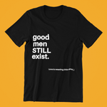 black good men exist tee