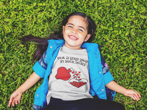 Put a Little Love - Kids Tee - sweetexpreshunz