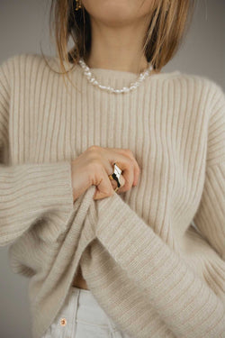 Maja Jumper / Light Beige