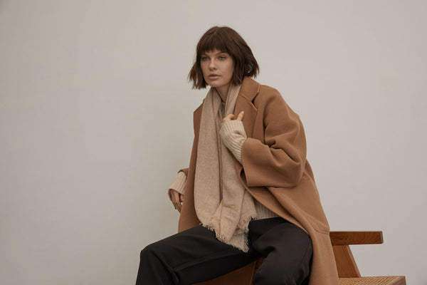 Cashmere / Wool Coat