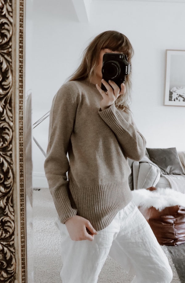 Monika Jumper / Beige