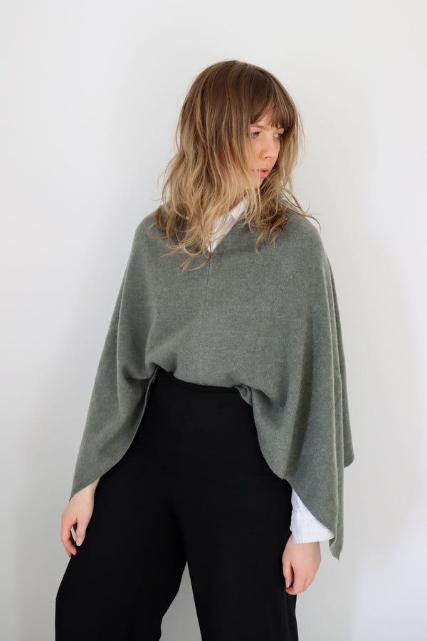 The Everyday Poncho / Moss