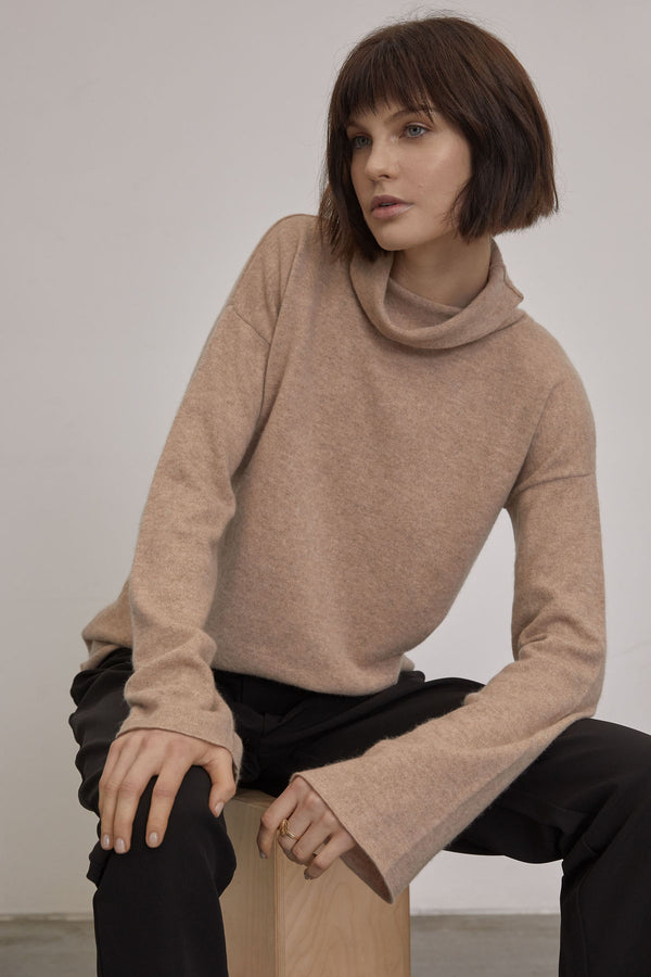 Felted Jumper / Beige