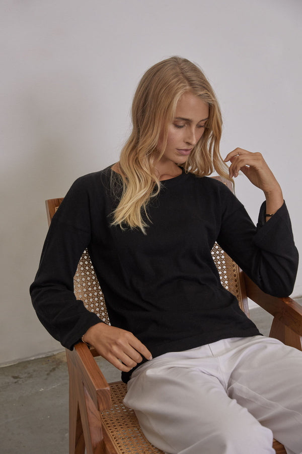 Birgitta Top / Black