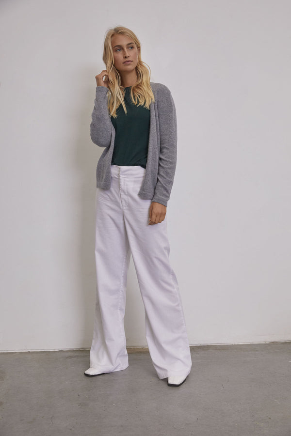 Cozy Cardigan / Grey Marle