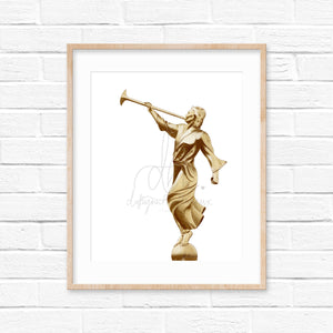 Angel Moroni Painting - Print