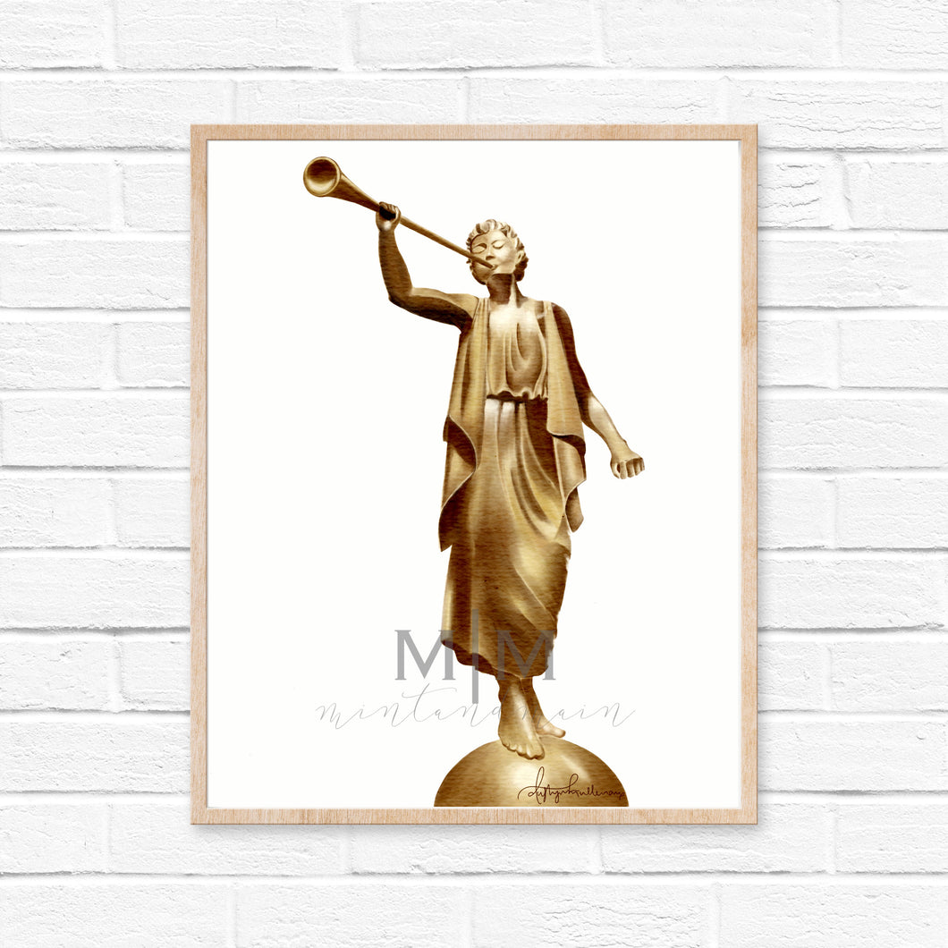 Angel Moroni Number Two Print
