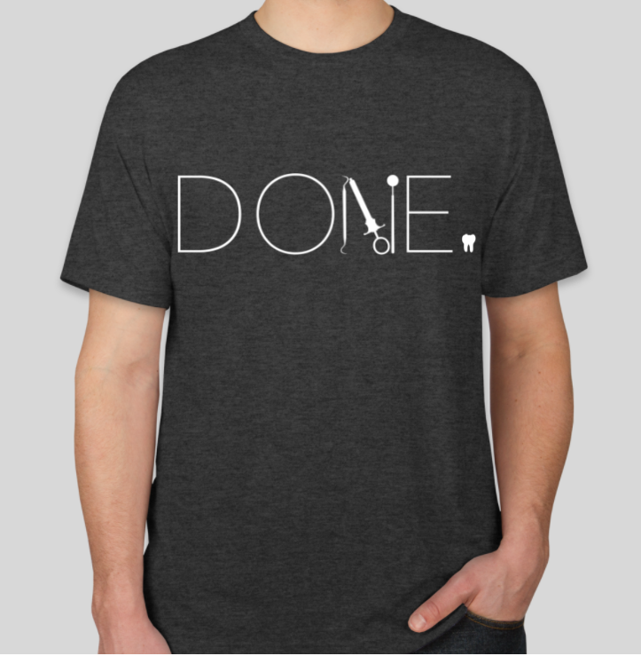 DONE Tee PREORDER (ASDOH Class of 2018)