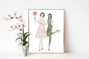 Custom Fashion Illustration