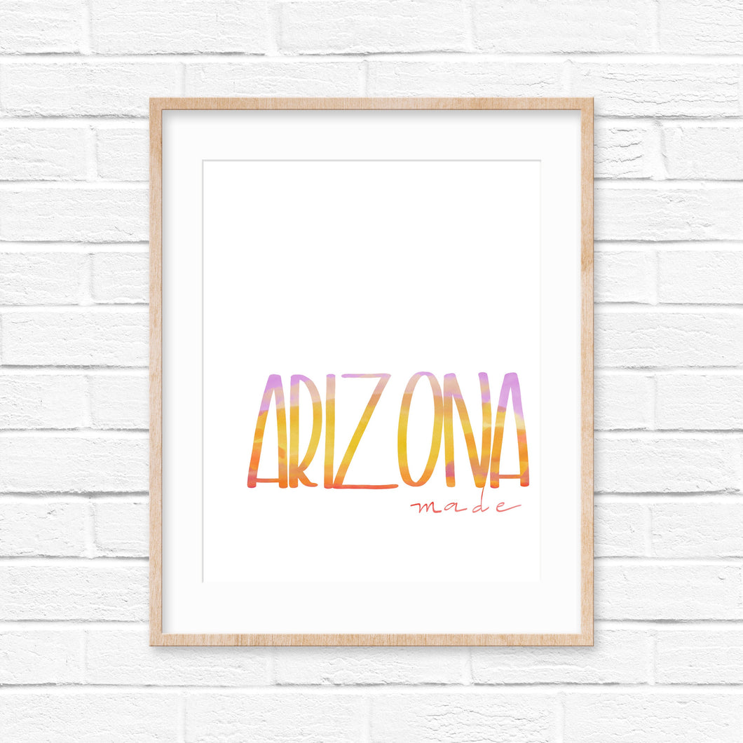 Arizona Made Print