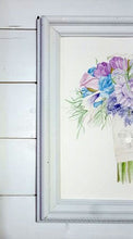 Close Up, Bridal Bouquet Painting