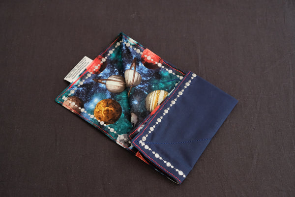 Space Cadet Embroidered (Cotton Fabric)
