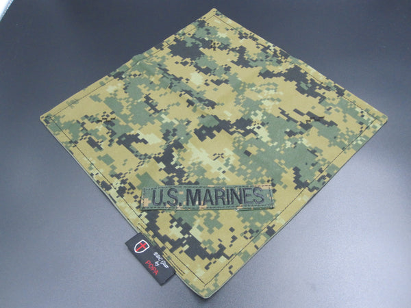 Marine  Digital Marpat Pattern Hanky (Cotton-Microfiber)