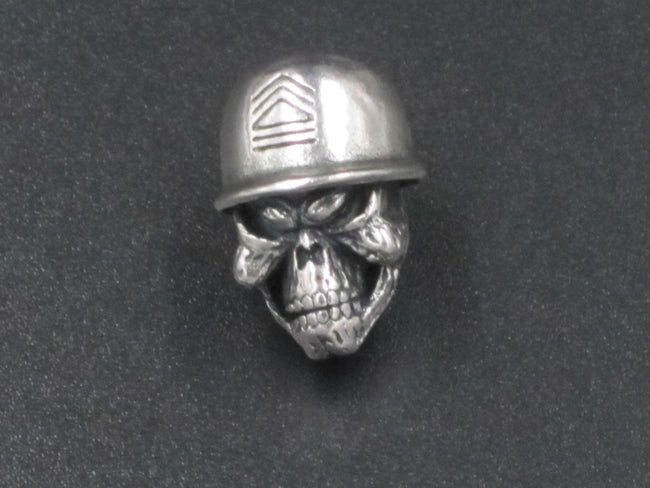 The Old Sarge Bead (Nickel Plated)