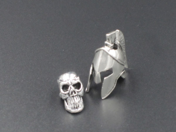 Spartan Bead (Nickel Plated)