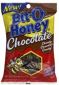 Bit O Honey 4.2oz bag Chewy Chocolate Candy appx 18 pieces